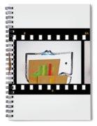 Tsunami Strip Spiral Notebook