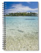 Tuamatu Islands Spiral Notebook
