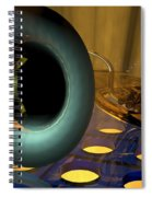 Tuba Goes Disco Spiral Notebook