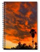 Tucson Arizona Sunrise Fire In The Sky Spiral Notebook