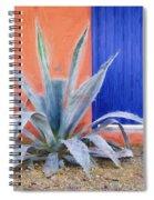 Tucson Barrio Blue Door Painterly Effect Spiral Notebook