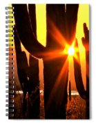 Tucson Sunset Spiral Notebook