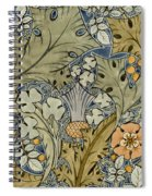 Tudor Roses Thistles And Shamrock Spiral Notebook