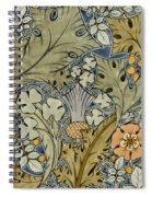 Tudor Roses Thistles And Shamrock Spiral Notebook