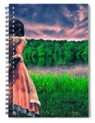 Tuesdays Child Spiral Notebook