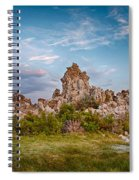 Tufa And Clouds Spiral Notebook