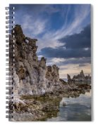Tufas And Clouds Spiral Notebook