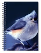Tufty The Titmouse Spiral Notebook
