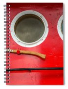 Tug Boat Eyes Spiral Notebook