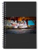 Tug Boat  Spiral Notebook