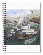 Gale Warning Safe Harbor Spiral Notebook