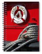 Tug John Purves Detail Spiral Notebook