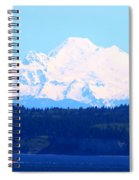 Tug With Mt Baker Spiral Notebook