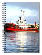 Tugboat Captain Spiral Notebook