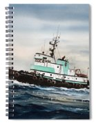Tugboat Island Champion Spiral Notebook