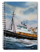 Tugboat Island Commander Spiral Notebook