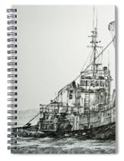 Tugboat Richard Foss Spiral Notebook