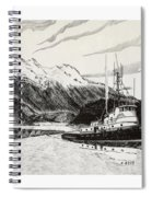 Skagit Chief Tugboat Spiral Notebook