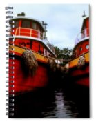 Tugs Spiral Notebook