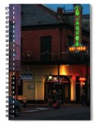 Tujagues At Night In New Orleans Spiral Notebook