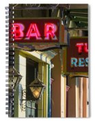 Tujague's Bar And Restaurant Spiral Notebook