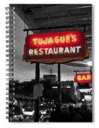 Tujague's Spiral Notebook