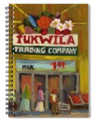 Tukwila Trading Co. Spiral Notebook
