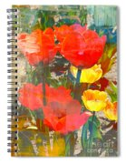Tulip Abstracts Spiral Notebook