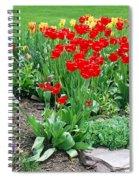 Tulip Gardenscape Spiral Notebook