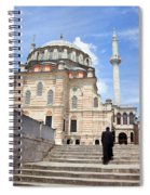 Tulip Mosque In Istanbul Spiral Notebook