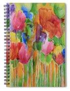 Tulip Palooza Spiral Notebook