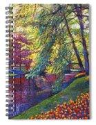 Tulip Park Spiral Notebook