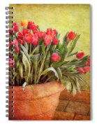 Tulip Tumble Spiral Notebook