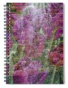 Tulip Waterfalls Spiral Notebook