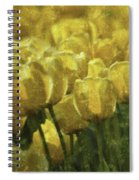 Tulips All Over Spiral Notebook