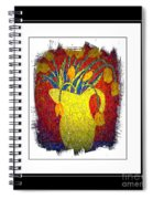 Tulips And Jug Spiral Notebook