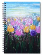 Tulips At Sunrise Spiral Notebook
