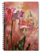 Tulips - Colors Of Love Spiral Notebook