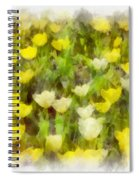 Tulips Everywhere Spiral Notebook