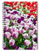 Tulips Field Spiral Notebook