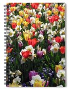 Tulips - Field With Love 57 Spiral Notebook
