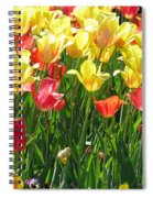 Tulips - Field With Love 65 Spiral Notebook