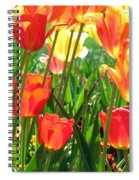 Tulips - Field With Love 69 Spiral Notebook