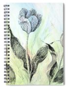 Tulips In Ink Spiral Notebook