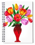 Tulips In The Vase Spiral Notebook