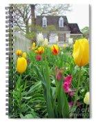 Tulips In Williamsburg Spiral Notebook
