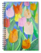 Tulips Multicolor Spiral Notebook