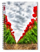 Tulips Part IIi Spiral Notebook