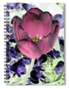 Tulips - Perfect Love - Photopower 2028 Spiral Notebook