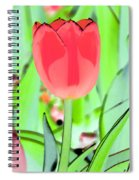 Tulips - Perfect Love - Photopower 2089 Spiral Notebook